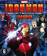 Iron Man - Rise Of Technovore (dvd)