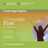 Complete First for Schools. Class Audio CDs (2)