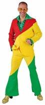 Kostuum rood/geel/groen voor volwassenen 56-58 (l)