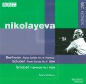 Beethoven: Piano Sonata No. 15; Schubert: Piano Sonata No. 21; Schubert: Impromptu No. 3