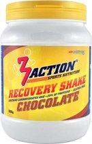 3action Recovery Shake Chocolade 500 Gram