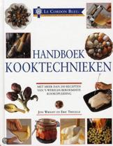 Boek cover Le Cordon Bleu handboek kooktechnieken van Jeni Wright (Hardcover)