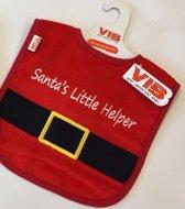 Slabber 'Santa Claus Riem + Santa's Little Helper' Rood