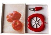 Appelsnijder met mesje in geschenkverpakking