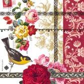 Vintage Papier Servetten - Rose Lace - Decoupage - 20 stuks