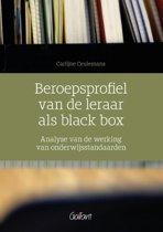 Beroepsprofiel van de leraar als black box