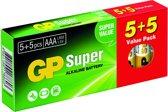 GP super alkaline batterijen AAA - 10 stuks