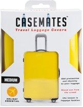 """""""Casemates koffer hoes, Kleur Geel, Maat M -24/26"""""""" ( 61/66cm)"""""""