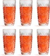 Libbey Longdrinkglas Atik – 270 ml / 27 cl – 6 stuks – stapelbaar – vaatwasserbestendig – vintage design – hoge kwaliteit