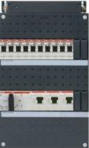 ABB groepenkast 3 fase met 10 groepen en afmetingen 330x220 mm