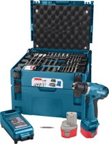 Makita 6271D accuboormachine - 12 V - Met 66-delige toolbox