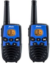 Alecto FZ-2016 - Twinset - Walkie Talkie - Blauw