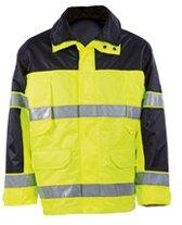 MASCOT veiligheidsjas Savana, EN 471, geel/marine, 100 % polyester, maat XL