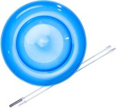 Set Acrobat Soft Spinning Plate blue + hand stick