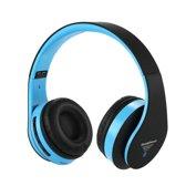 Wireless bluetooth headset STN12 Met Fm radio en Geheugen Poort zwart