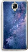 OnePlus 3 Transparant Hoesje (Soft) - Nebula