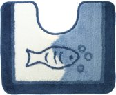 Sealskin Marina - Toiletmat - 45x55 cm - Blauw