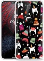 Nokia 6.1 Plus Hoesje Winter Hats