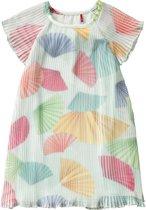 Plissé jurk Dressy voor meisjes groen