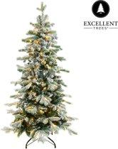 Kerstboom Excellent Trees® LED Varberg Green 150 cm - Luxe uitvoering- 170 Lampjes