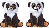 Feisty Pets Panda - Knuffel - Panda - Goliath