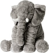 Superzachte Knuffel Olifant | Knuffelbeest 40 cm | Grijze Olifant