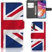 Bookstyle Case Samsung Galaxy A70 Groot-Brittannië