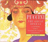 8-CD PUCCINI - THE GREAT OPERAS