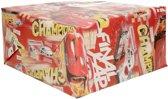 Disney inpakpapier Cars champions rood - 200 x 70 cm  - cadeaupapier / kadopapier