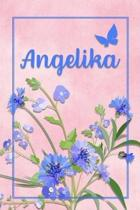 Angelika: Personalized Journal with Her German Name (Mein Tagebuch)