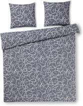 Day Dream Taco - Dekbedovertrek - Lits-jumeaux - 240x200/220 cm + 2 kussenslopen 60x70 cm - Grey