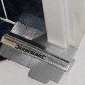 Silverline Profielmeter - tot 45mm diep en 150mm lang