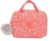 Kipling Lounas Medium Lunchbox - Hearty Pink Met
