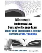 Minnesota Business & Law Contractor License Exam ExamFOCUS Study Notes & Review Questions