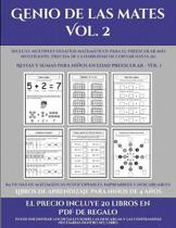 Libros De Aprendizaje Para Ninos De 4 Anos (Genio De Las Mates Vol. 2)