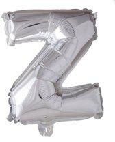 letterballon - 100 cm - zilver - Z