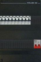 EMAT groepenkast 1 fase 9 aardlekautomaten en afmetingen 330x220 mm