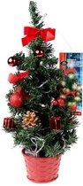 Fun & Feest Kunstkerstboom Kerstboompje met LED
