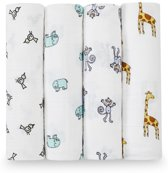 Aden + Anais Swaddle 4-pack Jungle Jam
