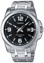 Casio MTP-1314D-1AVEF - Horloge - 50 mm - Staal - Zilverkleurig