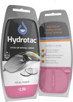 Hydrotac Press-on Bifocal leeslenzen sterkte +2.50 - Plaklens