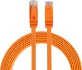 By Qubix internetkabel - 2 meter - oranje - CAT6 ethernet kabel - RJ45 UTP kabel met snelheid van 1000Mbps - Netwerk kabel is zeer stevig!