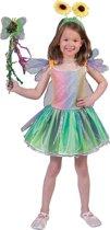 Vlinder Kostuum | Fantasie Vlinder | Maat 116 | Carnaval kostuum | Verkleedkleding