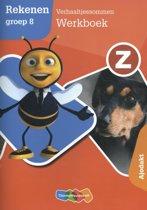 Boek cover Z-Rekenen groep 8 Verhaaltjessommen Werkboek Ajodakt van