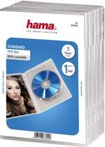 Hama 04783895 DVD Hoezen - 5 stuks / Transparant