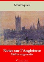 Notes sur l'Angleterre – suivi d'annexes