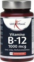 Lucovitaal Vitamine B12 1000 mcg Voedingssupplement - 30 kauwtabletten - bosvruchtensmaak