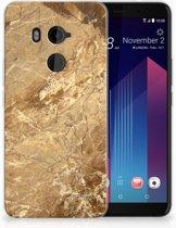 HTC U11 Plus TPU-siliconen Hoesje Design Marmer
