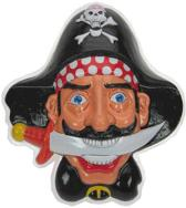 Wanddeco Piraten hoofd met dolk