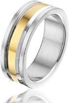 Montebello Ring Unisex - Heren - 316L Staal - 7 mm - Maat 60 - 19 mm